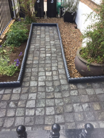 Brett Victorian Edgings with Silver Grey Granite Setts