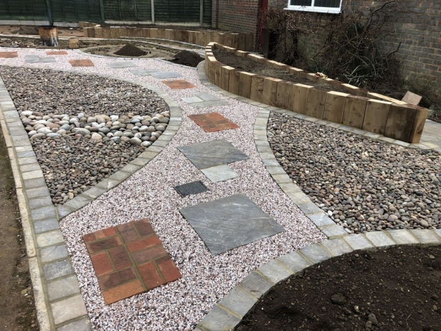 Monsoon Premium Sandstone with Edged Monsoon Setts